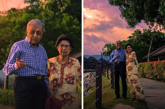 marking-their-64th-wedding-anniversary-tun-m-shares-adorable-photos-with-tun-siti-hasmah