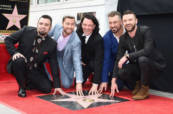 your-favourite-90s-boyband-nsync-finally-receives-the-hollywood-walk-of-fame-star
