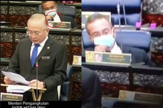 gangster-betul-malaysians-are-baffled-that-hishamuddin-hussein-was-seen-vaping-in-parliament