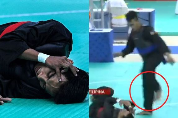 m-sians-outraged-as-silat-athlete-kicked-in-the-face-after-falling-down-at-sea-games