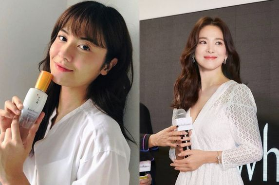 netizens-think-this-malaysian-actress-looks-like-descendants-of-the-sun-star-song-hye-kyo