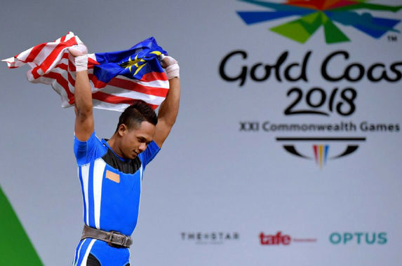 weightlifter-wins-malaysia-s-first-gold-at-the-2018-commonwealth-games
