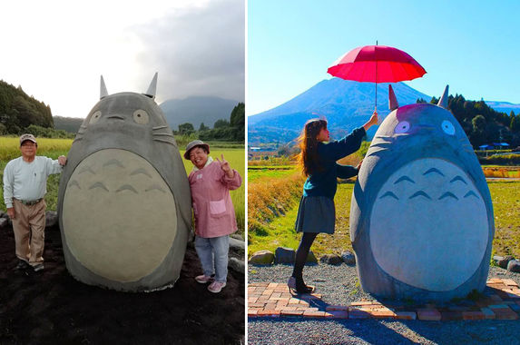 to-surprise-their-grandchildren-japanese-grandparents-build-a-real-life-totoro-bus-stop