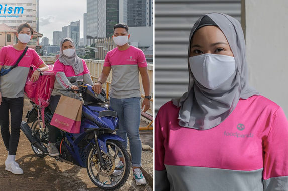 swag-foodpanda-riders-in-singapore-get-to-deliver-food-in-uniqlo-s-airism-masks