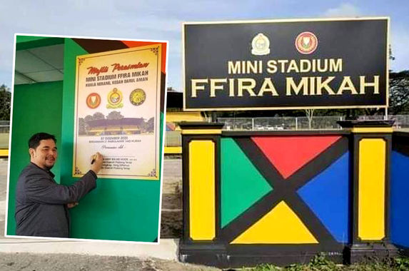 kedah-mb-padang-terap-district-officer-did-not-get-approval-to-name-ffira-mikah-mini-stadium