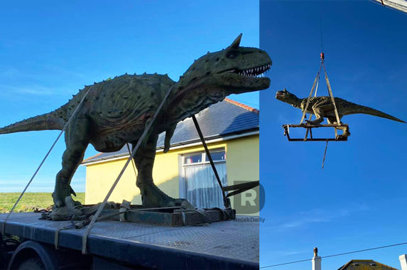 dad-orders-dinosaur-toy-for-son-didn-t-know-it-was-life-sized-until-it-arrived-in-a-crane
