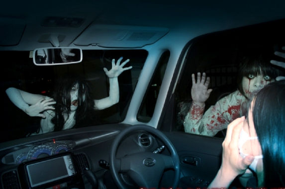 japan-launches-first-ever-drive-in-haunted-house-because-they-are-japan