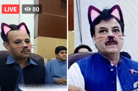 cat-astrophe-pakistan-minister-accidentally-live-streams-press-conference-with-cat-filter-on
