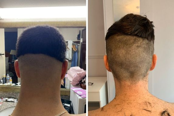 men-are-posting-pictures-of-legendary-covid-19-at-home-haircuts-by-their-partners