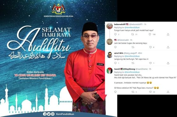 deputy-education-minister-shares-hari-raya-wishes-puzzled-m-sians-left-wondering-who-he-is