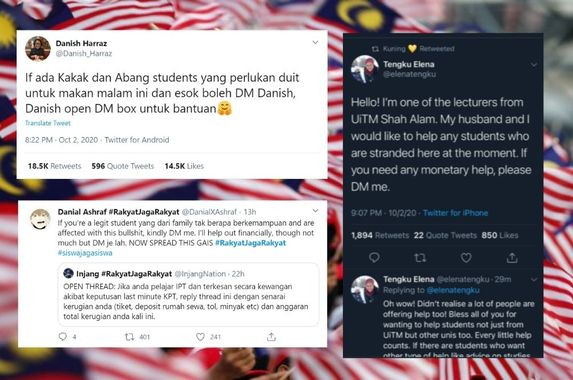 rakyatjagarakyat-malaysians-band-together-to-help-stranded-students-after-ministry-s-blunder
