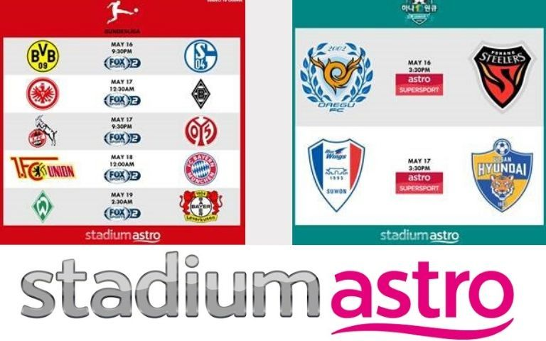 Bundesliga-Live-Matches-To-Restart-On-Astro-This-Weekend