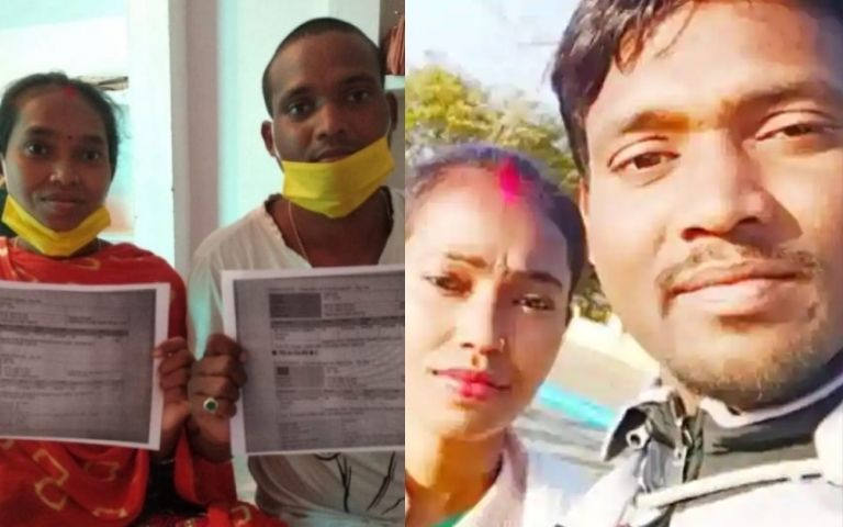 Indian-Couple-Brave-1-200KM-Journey-On-A-Scooter-To-Sit-For-Exam