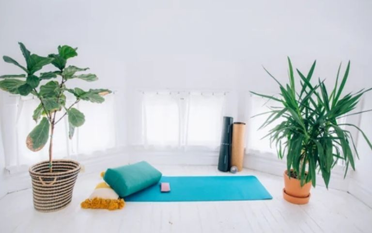 How-to-Create-Your-Own-Space-For-Yoga-At-Home
