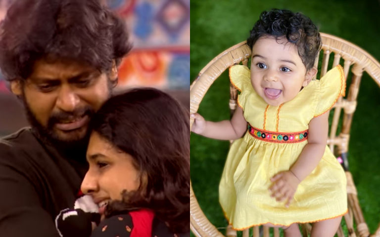 Why-Bigg-Boss-Rio-Raj-s-Daughter-Was-Missing-Wife-Sruthi-Explains
