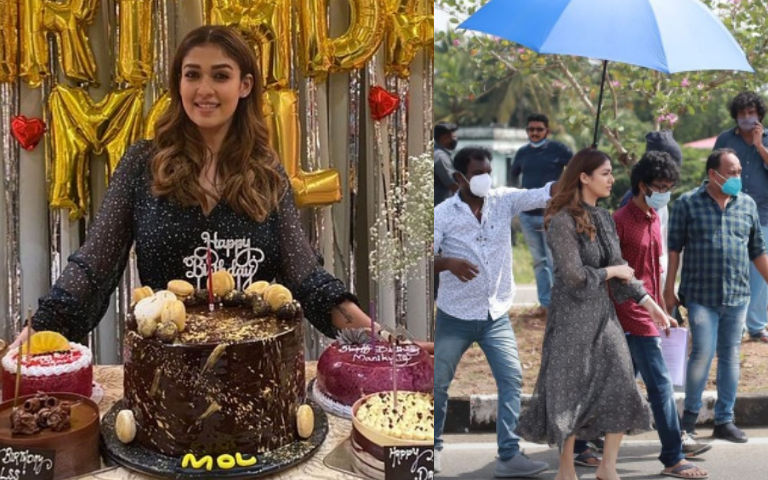 PICS-Parents-Lovely-Birthday-Surprise-For-Mol-Nayanthara