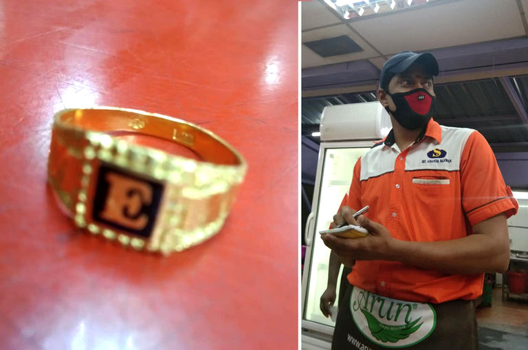 honest-restaurant-waiter-wins-praises-for-returning-gold-ring-accidentally-left-behind-by-customer
