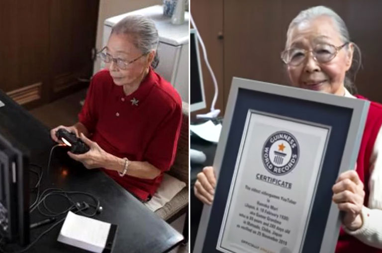 this-90-year-old-grandma-loves-playing-video-games-so-they-awarded-her-with-a-guinness-world-record