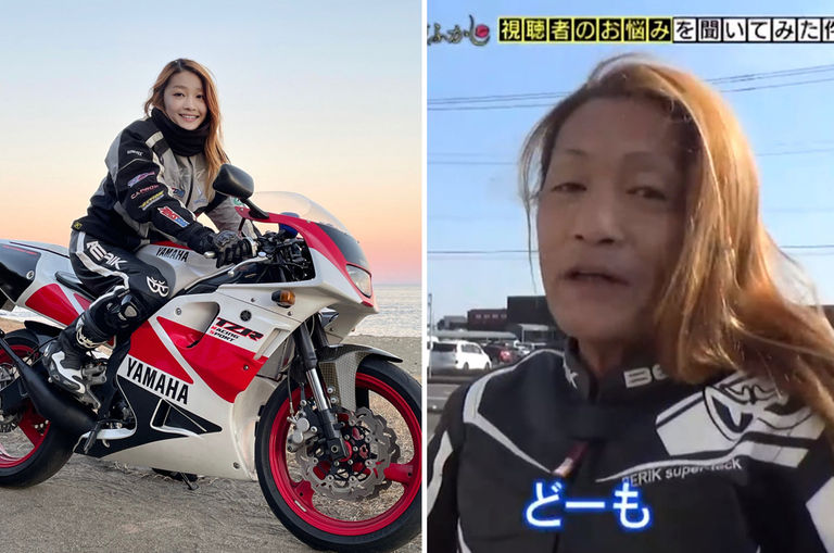 netizens-stunned-to-find-pretty-female-biker-is-actually-an-old-japanese-man-with-luscious-hair