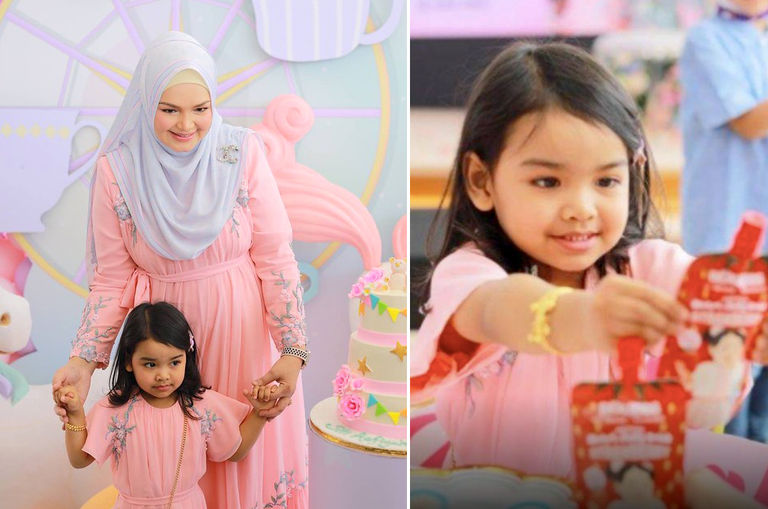 siti-nurhaliza-launches-children-s-nutritional-drink-named-after-her-three-year-old-daughter