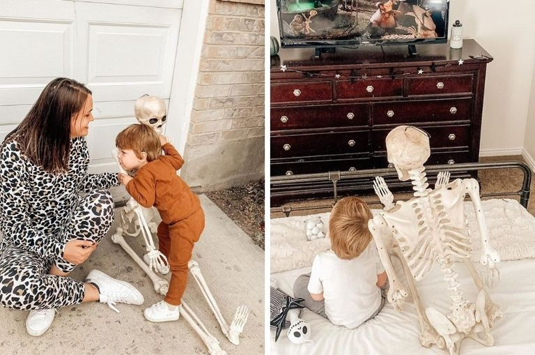 videos-photos-this-two-year-old-s-adorable-friendship-with-a-skeleton-is-beyond-cute