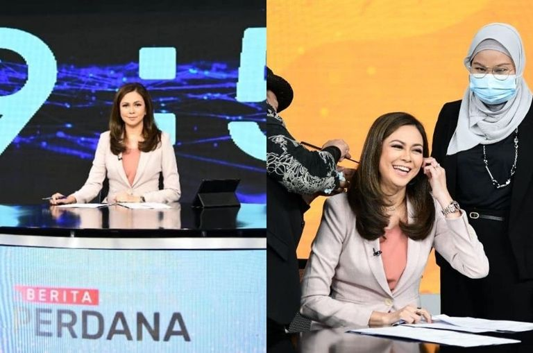 """We're In Love!"" – Tengku Permaisuri Selangor Returns As A TV News Anchor After Five Years"