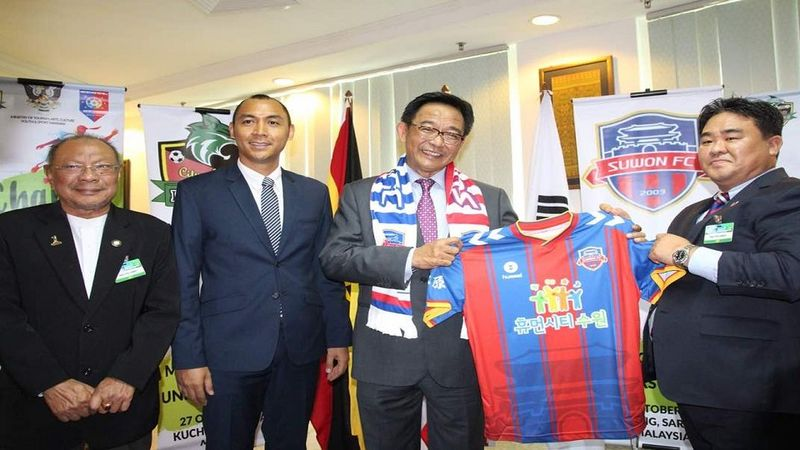 Kuching FA form partnership with Suwon FC