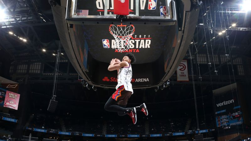 All-Star NBA: Simons muncul pemenang acara Slam Dunk