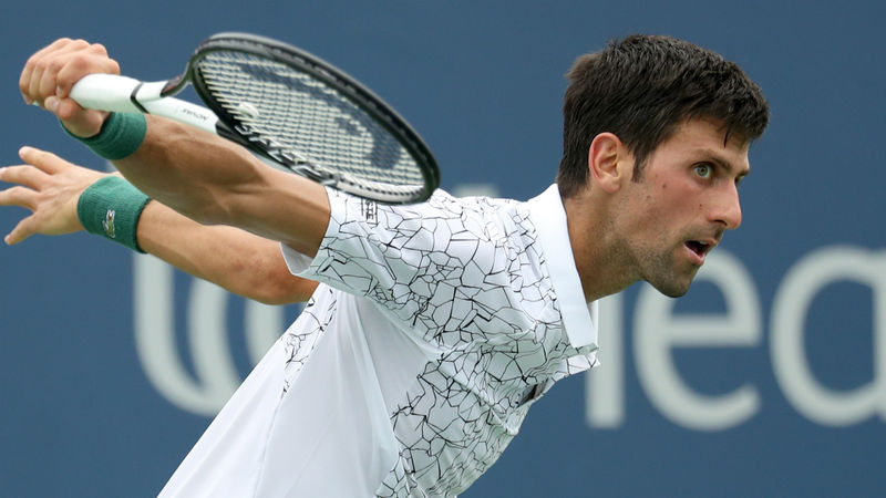 Djokovic and Dimitrov survive but Zverev loses in Cincinnati