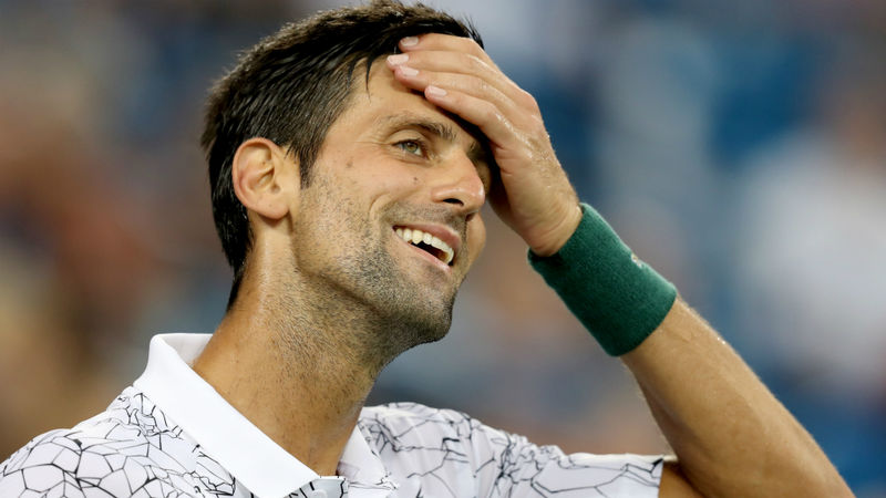 Djokovic-Dimitrov poised as rain wreaks havoc, Del Potro through