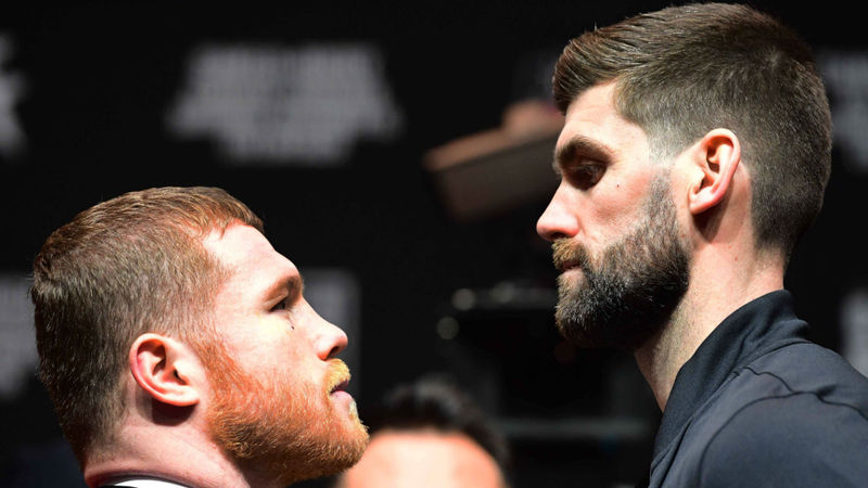 Canelo Alvarez vs. Rocky Fielding: Figters make weight in New York