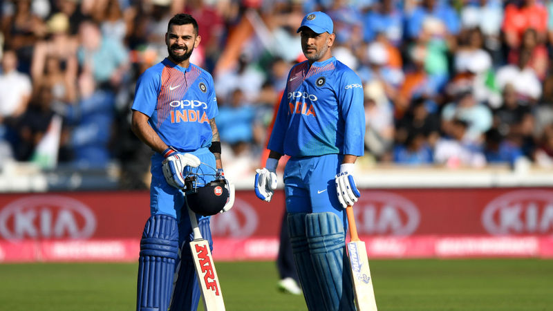 Omitted Dhoni an integral part of India side - Kohli
