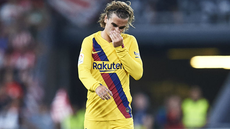 Valverde: Griezmann must come into play more after Barca loss