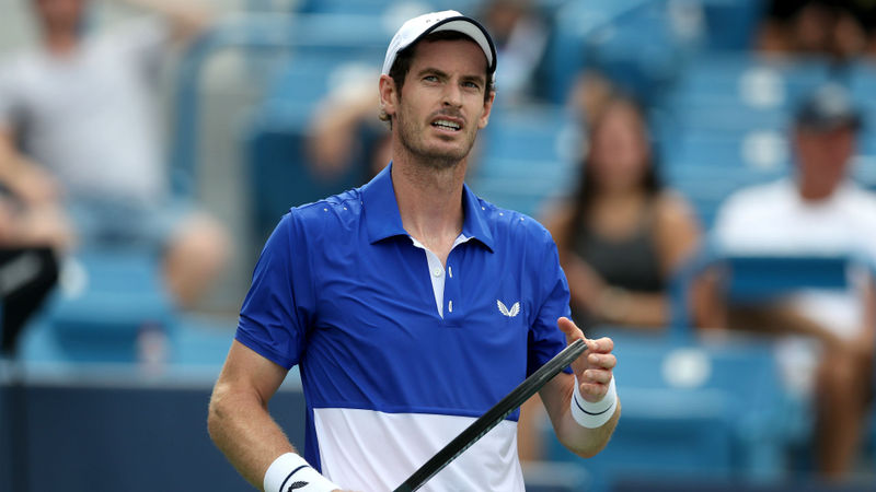 Murray eyeing 'decent run' as Berdych wins at Winston-Salem