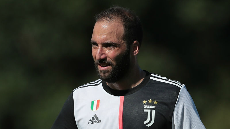Higuain starts for Juventus in Serie A opener against Parma