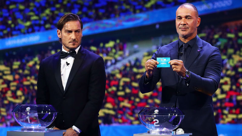 Euro 2020: The groups in full as France, Germany and Portugal drawn together