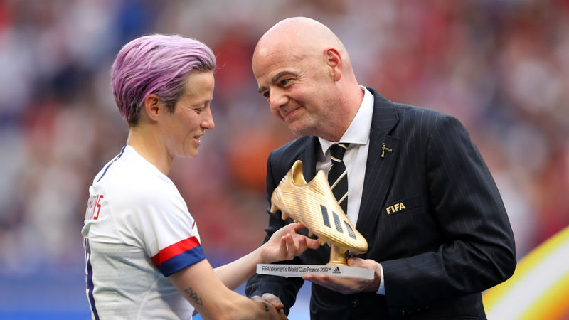 FIFA considering biennial Women's World Cup, says Infantino