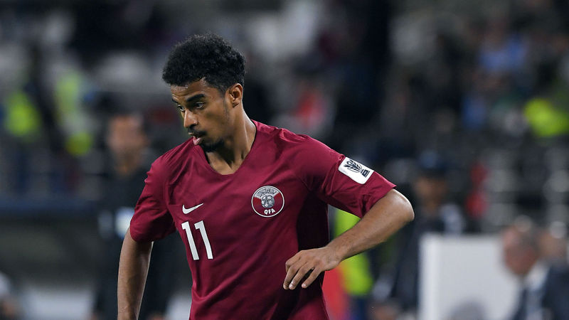 Qatar's Akram Afif crowned AFC player of the year