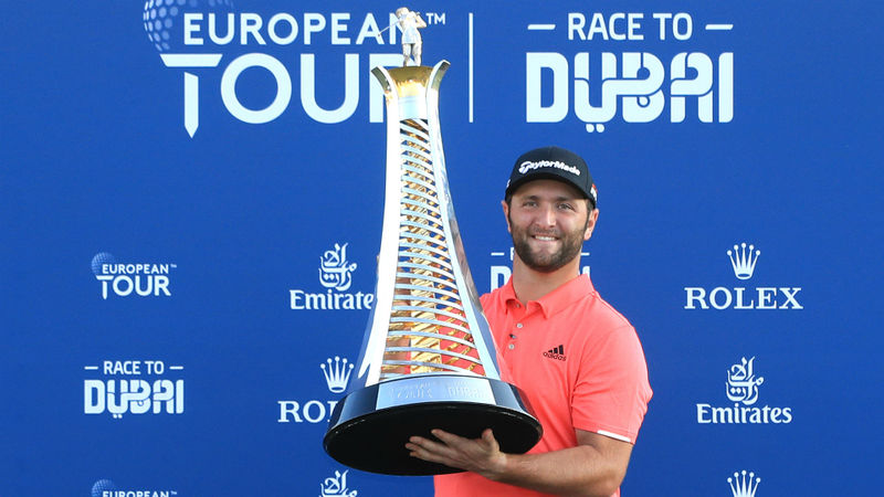 Rahm named European Tour Golfer of the Year after stellar 2019