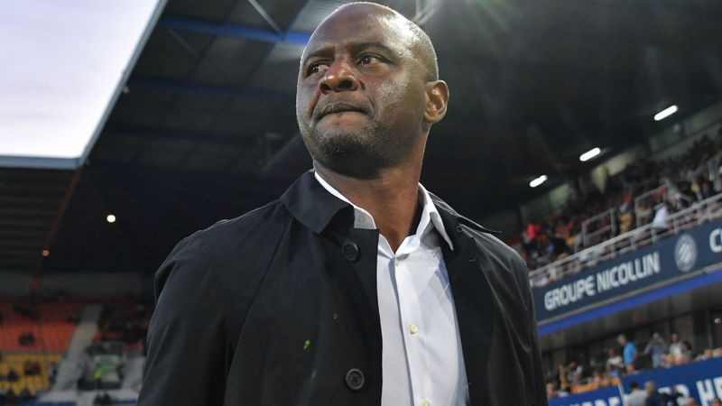 Vieira '300 per cent' focused on Nice amid Arsenal links