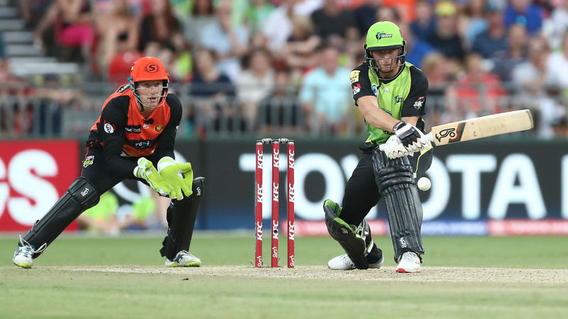 Buttler's purple patch continues in tense Thunder win