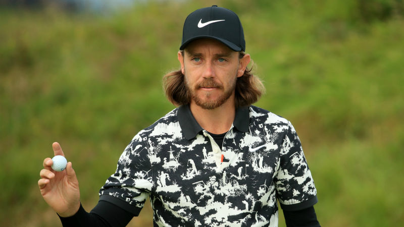 Fleetwood sets clubhouse target at Royal Portrush