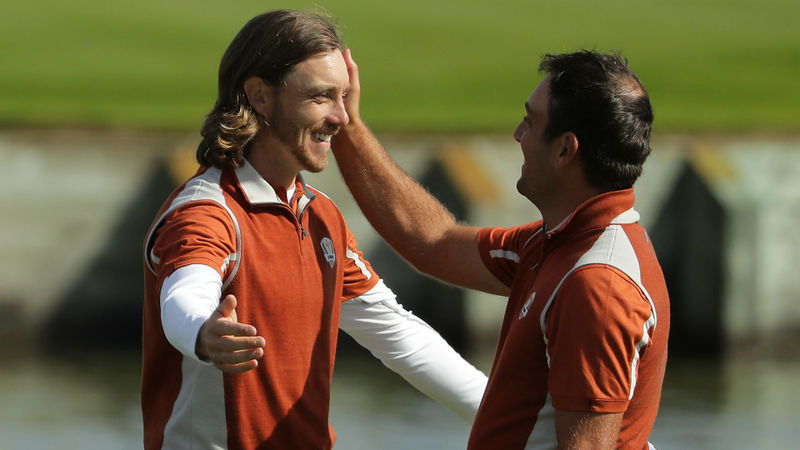Together forever - Molinari wants Fleetwood's name next to his on Claret Jug