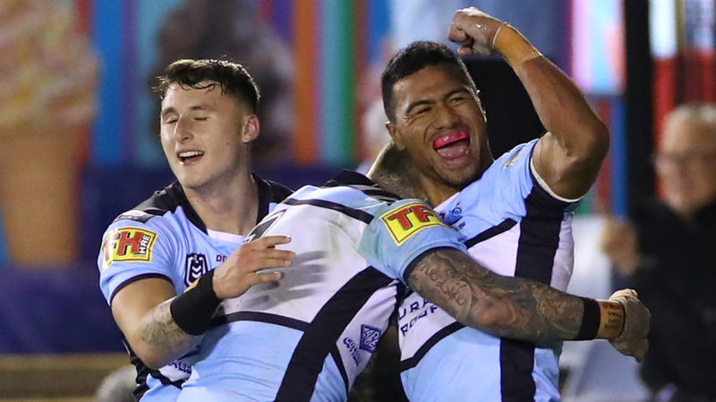 Sharks bite back to beat Cowboys in thriller