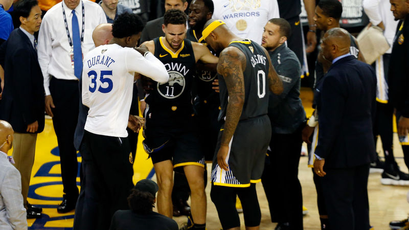 Klay Thompson injury update: Warriors guard tore ACL in Game 6, agent says