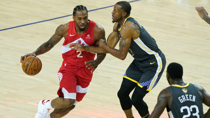 BREAKING NEWS: Raptors beat Warriors for first NBA title