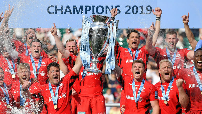 Saracens triumph was built on winning legacy - McCall