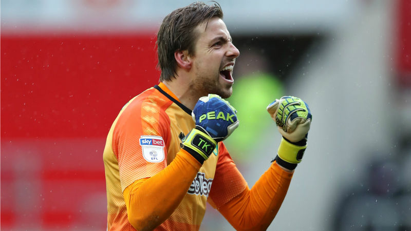 Krul relishing Premier League return after signing new Norwich City deal