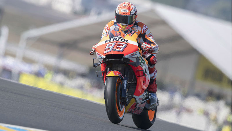 MotoGP Raceweek: Marquez will be 'safer' in Le Mans race