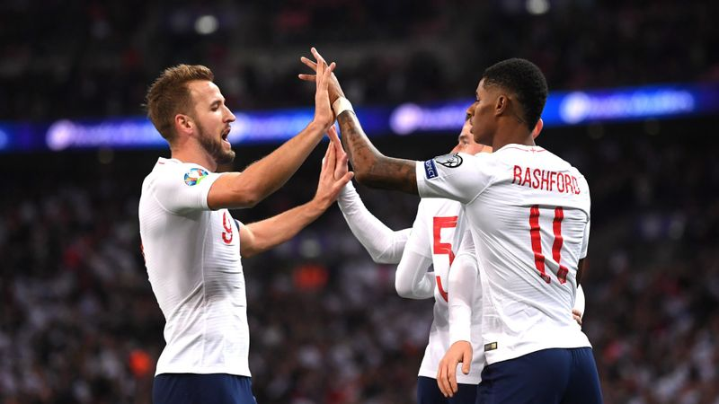 England wanted to put on a show to mark milestone, says hat-trick hero Kane